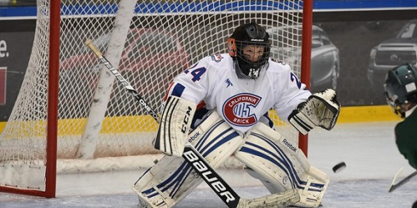 GOALIEDEV GOALIE SELECTED TO BRICK